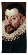 Sir Francis Walsingham (c1532-1590) Beach Towel