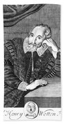 Sir Henry Wotton (1568-1639) Beach Sheet