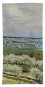 Sisley Saint-germain, 1875 Beach Towel
