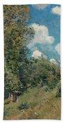 Sisley The Road, 1875 Beach Towel