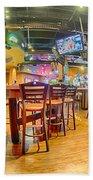 Sitting Area Inside Of A Tavern Bar Restaurant Beach Towel