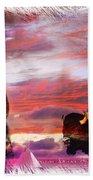 Sitting Bull Beach Towel