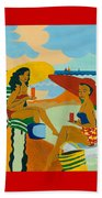 Sizzling Summer Beach Towel