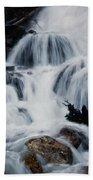 Skalkaho Waterfall Beach Towel