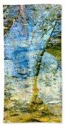 Skeletal Abstract Beach Towel