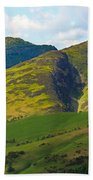 Skiddaw In The Lake District Beach Towel