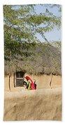 Skn 1401 Rural Background Beach Towel
