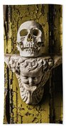 Skull And Angel Beach Towel