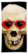 Skull Art - Day Of The Dead 2 Beach Towel