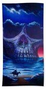Skull Point Beach Towel