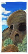 Skull Rock Beach Towel