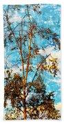 Sky Tree Beach Towel