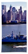 Skyline Steaming Beach Towel by Benjamin Yeager