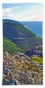 Skyline Trail And Road Through Cape Breton Highlands Np-ns Beach Towel