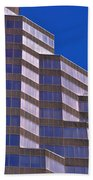 Skyscraper Photography - Downtown - By Sharon Cummings Beach Towel