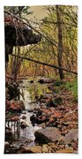 Slate Bottom Creek Beach Towel