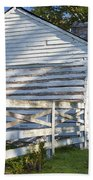 Slave Huts On Southern Farm Beach Sheet