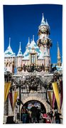 Sleeping Beauty's Castle Beach Towel
