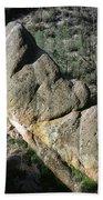 1b6434-sleeping Giant Rock Beach Towel