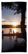 Sleeping Giant Sunset Beach Towel