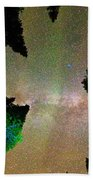 Sleeping Under The  Milky Way Stars Beach Towel