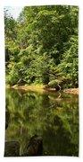 Slippery Rock Creek Beach Towel