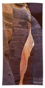 Slot In Palo Duro Canyon 110213.61 Beach Towel