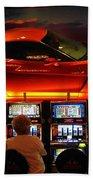 Slots Players In Vegas Beach Towel