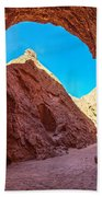 Small Canyon In Chile Beach Towel