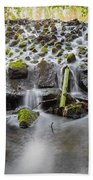Small Cascade In Marlay Park Beach Towel