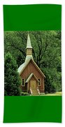Small Chapel  Beach Towel