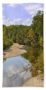 Small River 1 Beach Towel