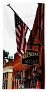 Small Town Patriotism Beach Towel