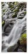 Small Waterfalls In Marlay Park Beach Towel