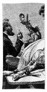Smallpox Vaccine, 1883 Beach Towel