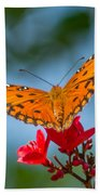 Smell The Flowers Beach Towel