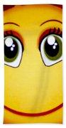 Smiley Sun Beach Towel