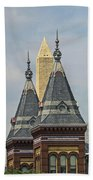 Smithsonian Towers Beach Towel