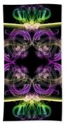 Smoke Art 34 Beach Towel