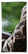 Smoke Beach Towel