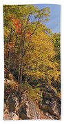 Smoky Mountain Autumn Beach Towel