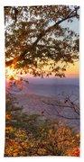Smoky Mountain High Beach Towel
