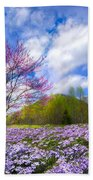 Smoky Mountain Spring Beach Towel