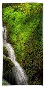 Smoky Mountain Stream And Boulders E223 Beach Towel