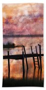 Smoldering Sunrise Beach Towel