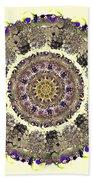 Snake Mandala Beach Towel