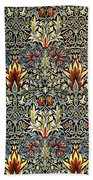 Snakeshead Beach Towel by William Morris