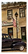 Snappers Saloon Ripley Ohio Beach Towel