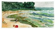 Snips And Snails Beach Towel