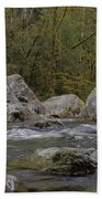 Snoqualmie River Beach Towel